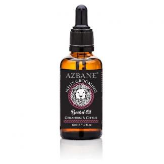 Azbane Geranium & Citrus Beard Oil (15 ml)