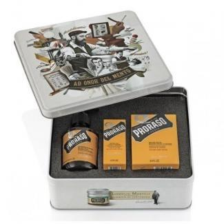 Beard Kit Wood  Spice Proraso