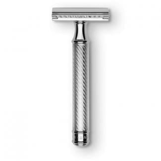 Baxter of California Double Edge Razor Silver